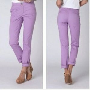 Anthro Pilcro and the Letterpress Lilac Chinos 29
